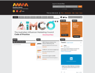 auditedmedia.org.au screenshot