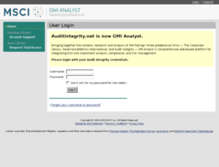 auditintegrity.net screenshot