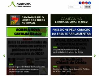 auditoriacidada.org.br screenshot