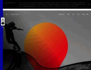 auditorium-lyon.com screenshot