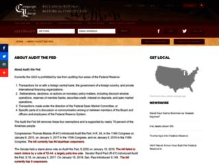 auditthefed.com screenshot