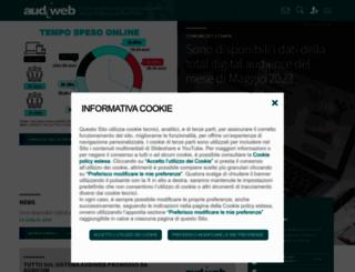 audiweb.it screenshot