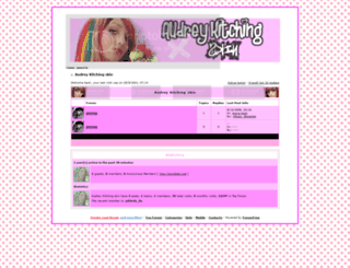 audreykitchingskin.forumfree.net screenshot