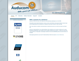 auducom.nl screenshot