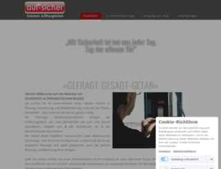 auf-sicher.de screenshot