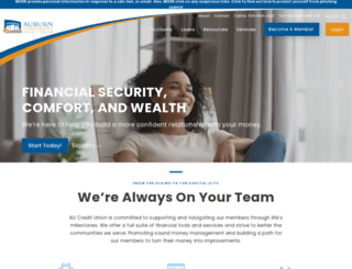 aufcu.com screenshot