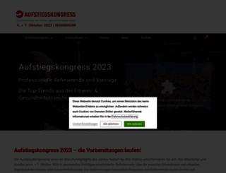 aufstiegskongress.de screenshot