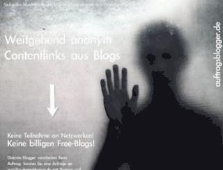auftragsblogger.de screenshot