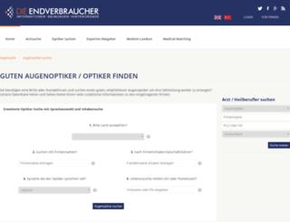 augenoptik.die-endverbraucher.de screenshot