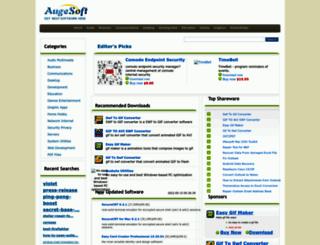 augesoft.com screenshot