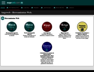 augeweb.com screenshot