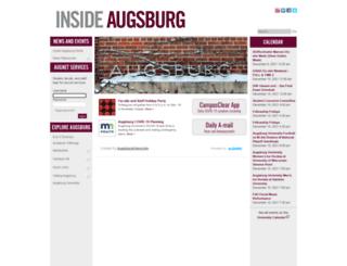 augnet.augsburg.edu screenshot