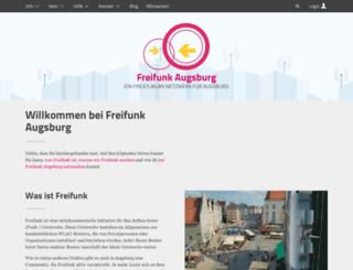 augsburg.freifunk.net screenshot