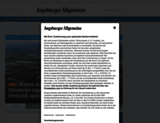 augsburger-allgemeine.de screenshot