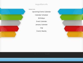 august5am.info screenshot