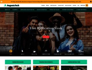 augustatech.edu screenshot