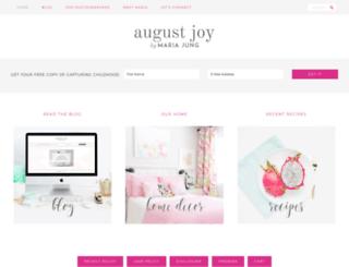 augustjoystudios.com screenshot