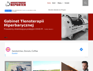 augustowskireporter.pl screenshot