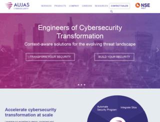 aujas.com screenshot