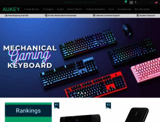 aukey.com screenshot