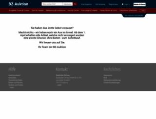 auktion.badische-zeitung.de screenshot