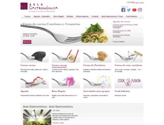 aula-gastronomica.com screenshot