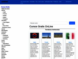 aulafacil.com screenshot