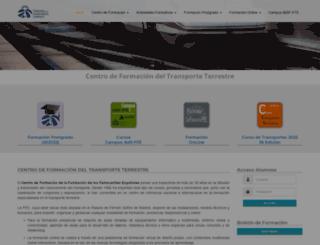 aulaferroviaria.es screenshot