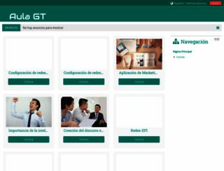 aulagt.com screenshot