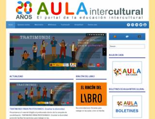 aulaintercultural.org screenshot