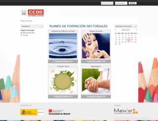 aulamadrid.mainfor.es screenshot