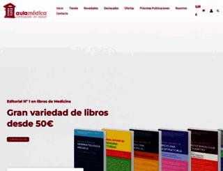 aulamedica.es screenshot