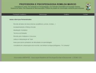aulaparticulardeportugues.com.br screenshot