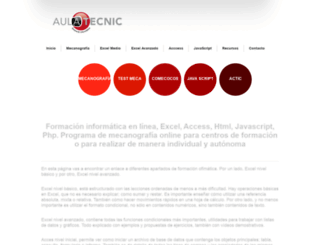 aulatecnic.es screenshot