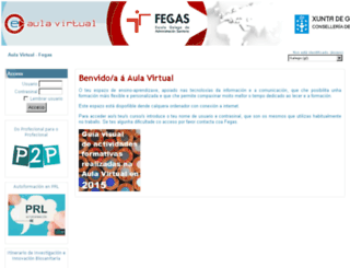 aulavirtual-fegas.sergas.es screenshot