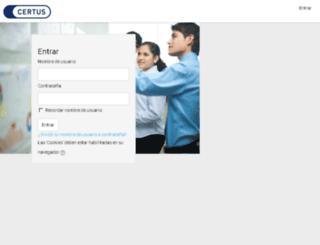 aulavirtual.ifbcertus.edu.pe screenshot