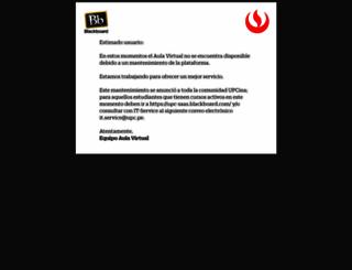 aulavirtual.upc.edu.pe screenshot