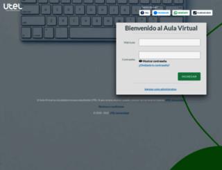 aulavirtual.utel.edu.mx screenshot