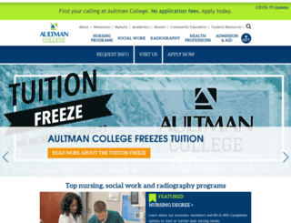 aultmancollege.edu screenshot