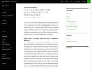 aumentarmasamuscularx.com screenshot