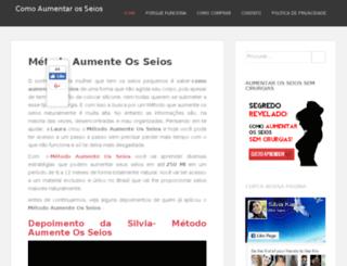 aumentarosseios.net screenshot
