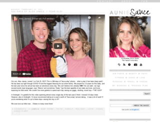 auniesauce.com screenshot