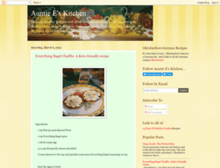 auntieecookbook.blogspot.com screenshot