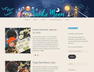 auntiemoon.wordpress.com screenshot