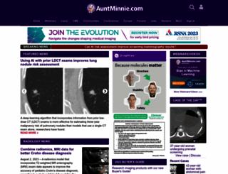 auntminnie.com screenshot