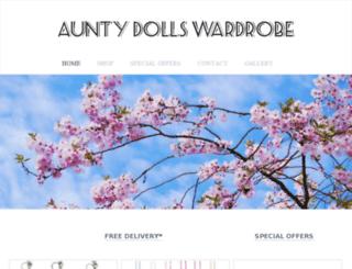 auntydollswardrobe.com screenshot