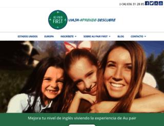 aupairfirst.com screenshot