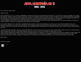 aupalumbreiras.com screenshot