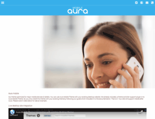 aura.webbudesign.com screenshot