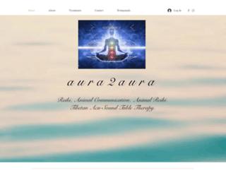 aura2aura.co.uk screenshot